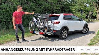 Ausprobiert: Fahrradträger für die Anhängerkupplung