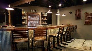 Basement Bar - The Durbin Compound