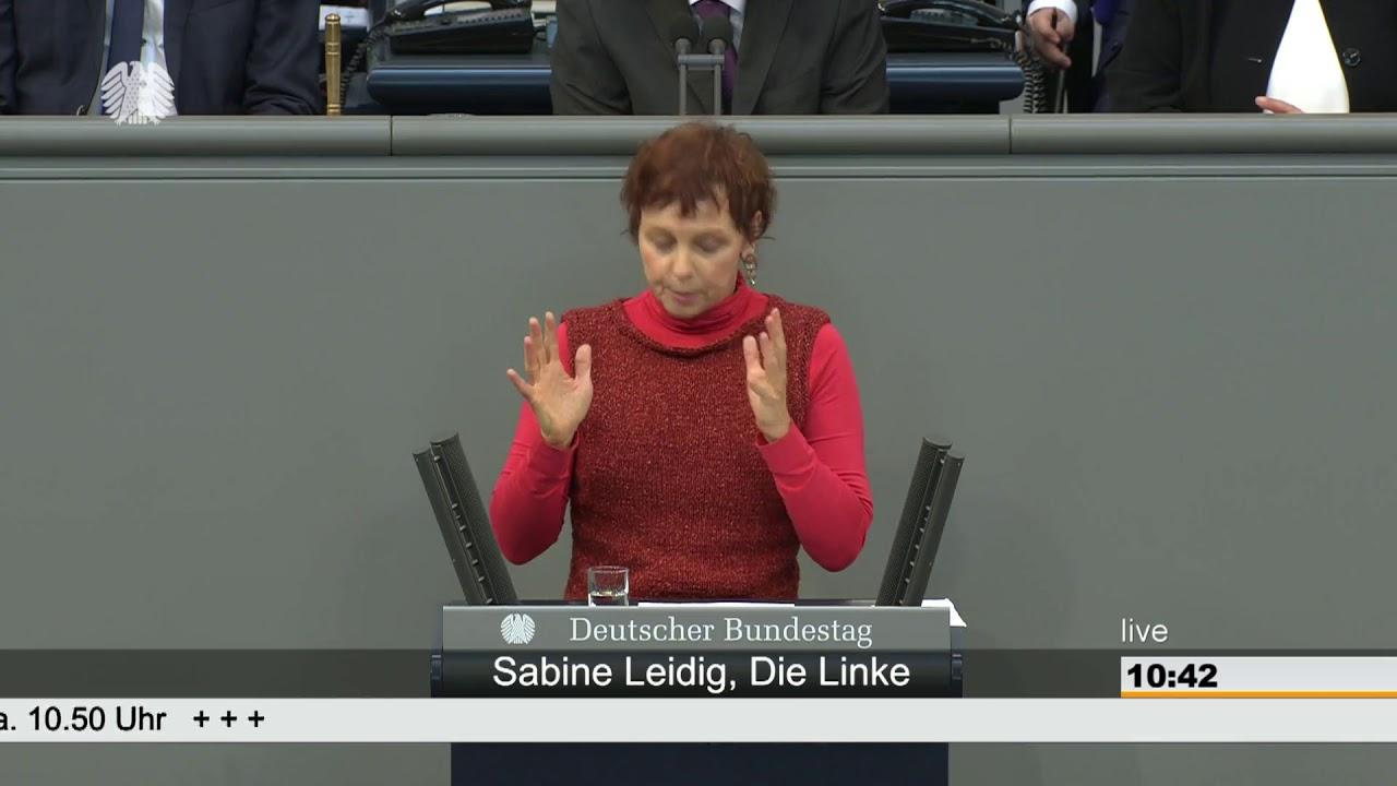 Rede von Sabine Leidig am 15. Februar 2019 im Deutschen Bundestag zum Thema Deutsche Umwelthilfe gegen die Kampagne der Rechten verteidigen