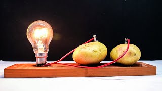 Free Energy Light Bulbs 220v using Potato(read description)