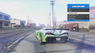 تهكير لعبة قراند 5 GTA على جهاز سوني PS4 مع الاون لاين