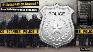 Official Police Scanner | Scanner App for Windows 10 | 5-0 Police Radio
