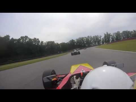 Onboard Catches F1 Style Standing Start in F4 U.S. Championship with Raphael Forcier