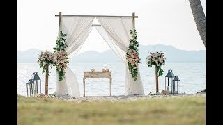 Phuket Wedding Planner - WEDDING BOUTIQUE - Boho Beach Wedding - Grisel & Raymond