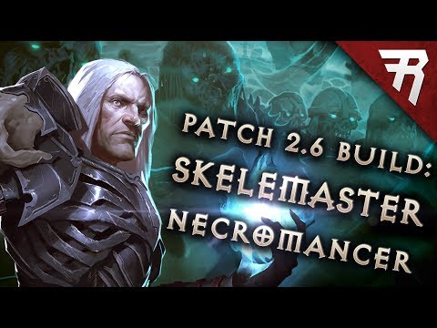 Diablo 3 2.6 Necromancer Build: Minion Starter & End-Game Rathma GR 105+ (Guide, Season 11)