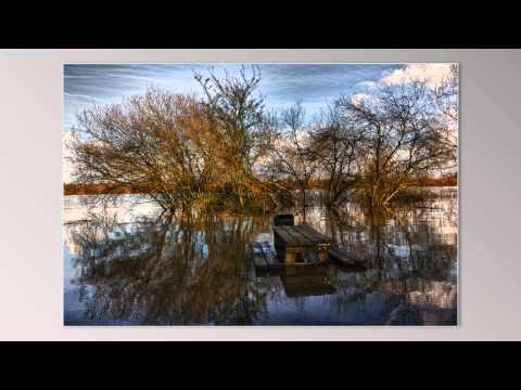Hoogwater van de Maas in Boxmeer - Fotoslideshow