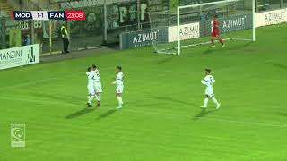 Modena-Fano 2-1, highlights