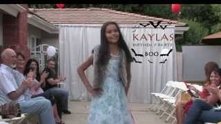 My 10th birthday party and fashion show