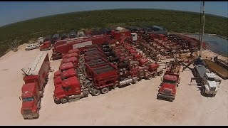 Patriot Energy Fracking and Well Completion Video