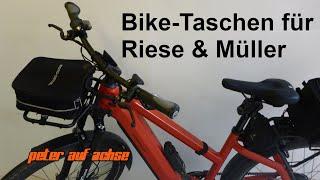 Biketaschen für Riese & Müller Fahrräder. Welche Taschen kann ich verwenden?