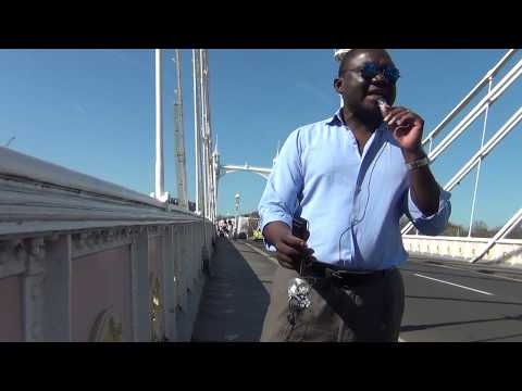 Jesus appears on Albert Bridge London Chelsea, Andy Lumeh Evangelist