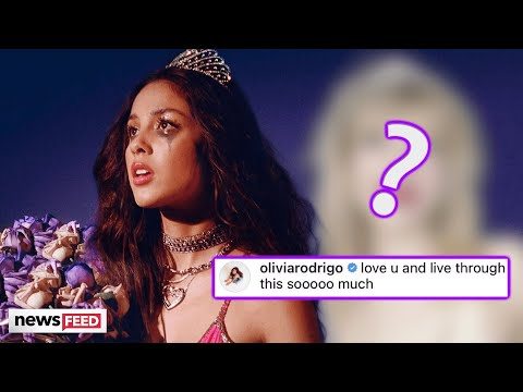 Olivia Rodrigo RESPONDS To This Artist Who Accused Her Of Copying Album Artwork!
