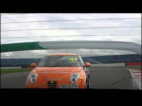 Silverstone Int 2014 – Race 1 – Dave Messenger – Rear View