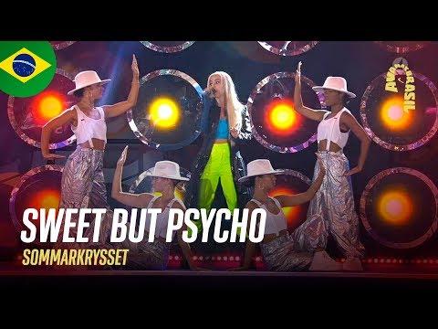 Ava Max - Sweet But Psycho (Legendado   Sommarkrysset   Estocolmo, Suécia   10/08/19)