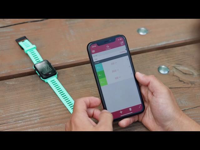 Видео Спортивные часы Sigma Sport iD.TRI Black