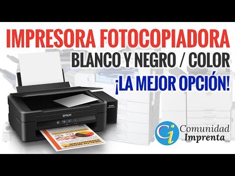 IMPRESORA FOTOCOPIADORA ECONÓMICA COLOR Y BLANCO Y NEGRO | IMPRESORA EPSON L220