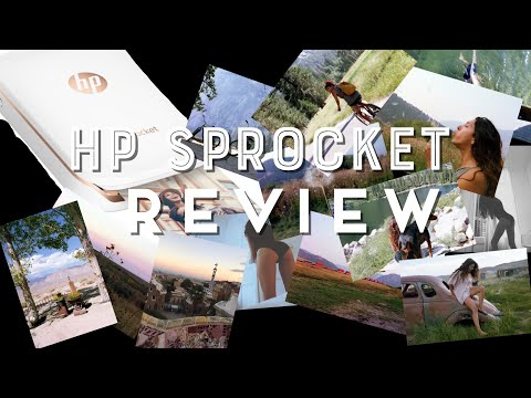 HONEST HP Sprocket Portable Printer REVIEW (Not Sponsored)