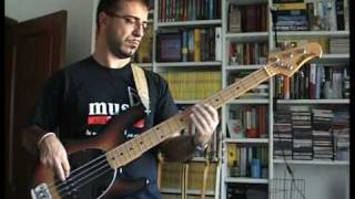 Johnny Clegg Tribute 3 - Take my heart away - bass playalong (Solly Letwaba R.I.P.)