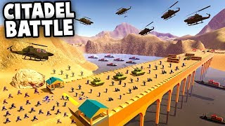Most EPIC Bridge Battle - NEW Map, NEW Vehicles (Ravenfield Mod Gameplay)