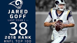 #38: Jared Goff (QB, Rams)   Top 100 Players of 2018   NFL
