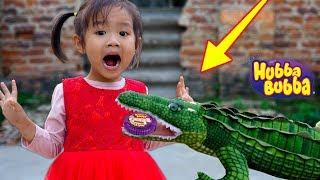 Trò Chơi Săn Cá Sấu Lấy Kẹo HUBBA BUBBA - Bé Nhím TV - Đồ Chơi Trẻ Em Thiếu Nhi