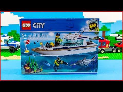Vidéo LEGO City 60221 : Le yacht de plongée
