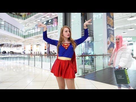 КОРОНАМИНУС   Supergirl танцует в ТРЦ   Реакция на ТАНЕЦ