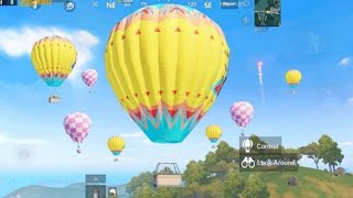 NEW Flying BALLOONS IN PUBG MOBILE