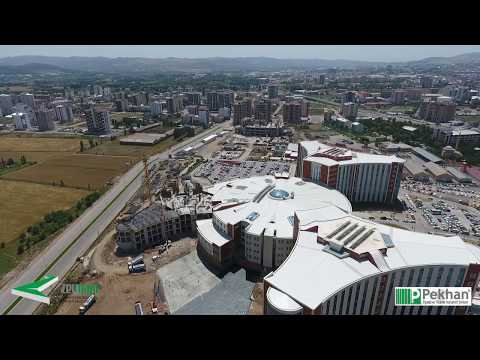 Sivas Drone Çekimi / Sivas Numune Hastanesi Ek Bina Havadan Görüntü