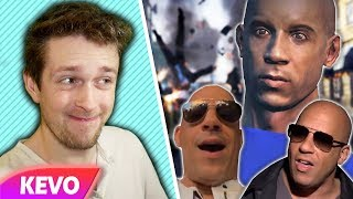 Vin diesel and his weird video game