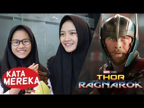 Kata Mereka Tentang Thor: Ragnarok - BookMyShow Indonesia