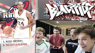 INTENSE 2v2 BLACKTOP WITH JESSER, TD PRESENTS, AND MOPI! NBA 2K18 BLACKTOP!