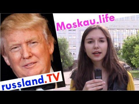 US-Wahl: Viele Russen wollen Trump! [Video]