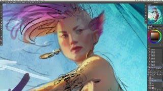 Magic: The Gathering Artist Paints Stunning Character Art