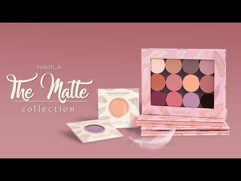 Nabla Nabla Pressed Pigment Feather Edition Chérie Shape