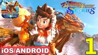 MONSTER HUNTER STORIES - Android / iOS Gameplay - #1
