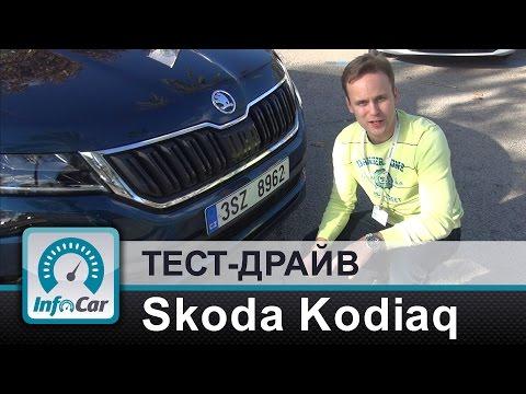 Skoda  Kodiaq Паркетник класса J - тест-драйв 3