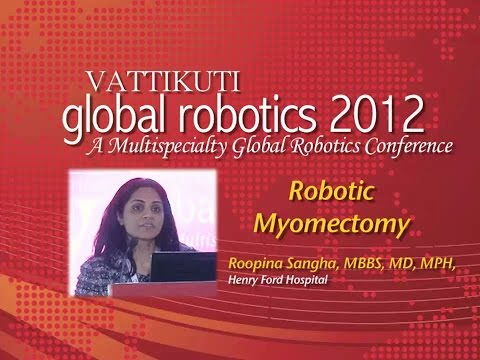 Robotic Myomectomy