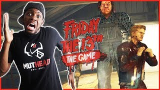 JASON OUT HERE CHEESING! ROAST HIM! - Friday The 13th Gameplay Ep.41