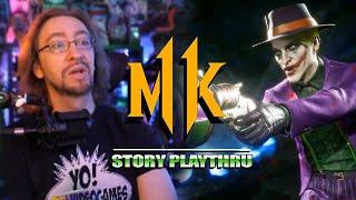 Joker's Story Is ACTUALLY Insane:  Joker - MK11 Story Playthru