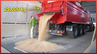 Most Ingenious Truck Unloading Equipment | Heaviest Engineering Machinery