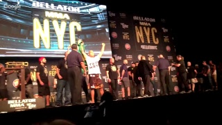 Live from Bellator NYC: Sonnen vs. Silva weigh-ins