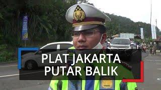 Melintas Kawasan Puncak, Kendaraan Plat Jakarta Dipaksa Balik Lagi ke Arah Cianjur