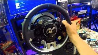 Gran Turismo Sport + Thrustmaster T-GT NEW Wheel First Impressions | SLAPTrain