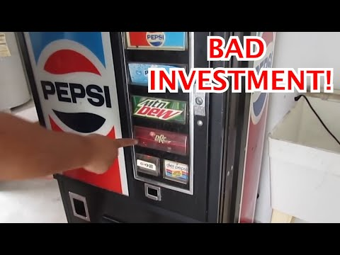 PROS and CONS of THE VENDING MACHINE BUSINESS!!