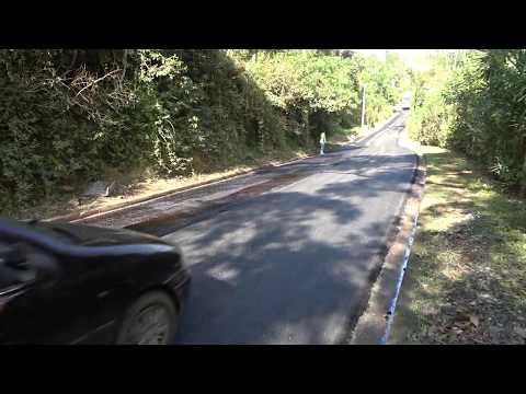 Prefeito Ayres Scorsatto faz a Pavimentação asfáltica na Estrada da Senhorinhas