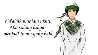 Halaqah Cinta (Kang Abay) Covered By UKKI PPG UNY WATES