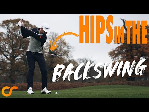 GOLF - HOW THE HIPS WORK IN THE BACKSWING