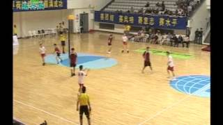 preview picture of video 'Chiny - Polska (Korfball MŚ Chiny 2011)'