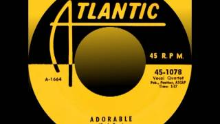 ADORABLE, The Drifters, Atlantic #1078   1955